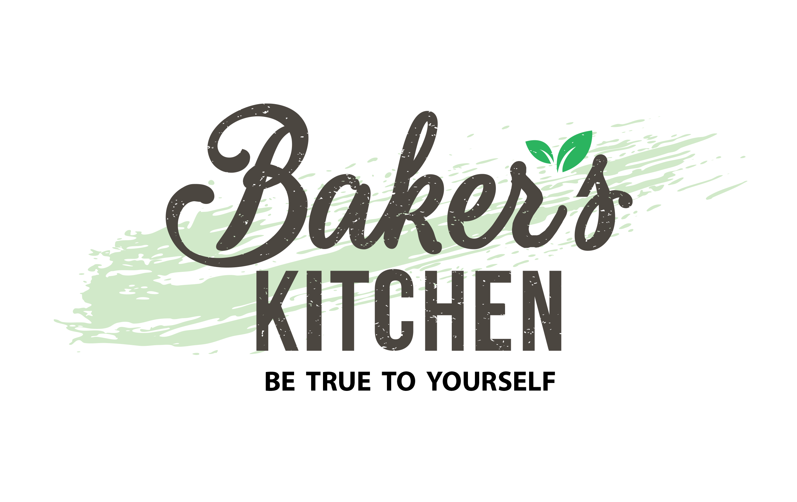 Baker 39 s kitchen innocent food we fit your lifestyle for Kitchen decoration logo